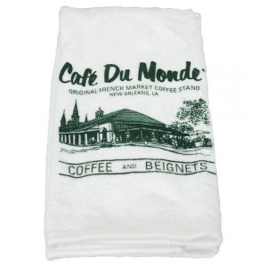 Cafe du Monde Logo Terry Towel