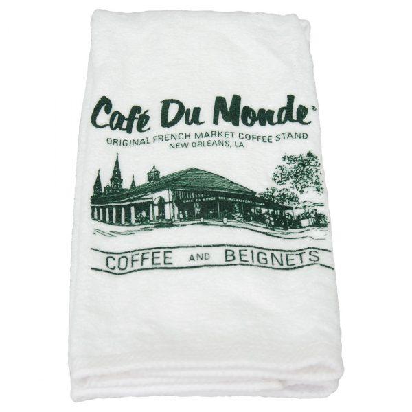 Cafe du Monde Logo Terry Towel