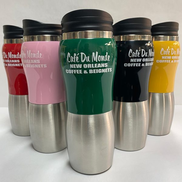 Cafe du Monde Stainless Tumblers