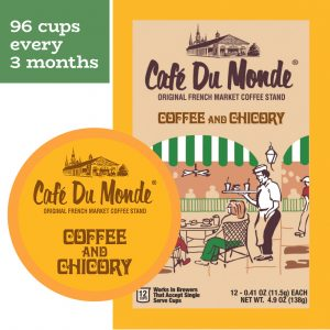 Cafe du Monde Plaquemines Single Serve Cup Plan