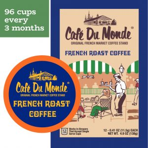Cafe du Monde St. Tammany Single Serve Cup Plan