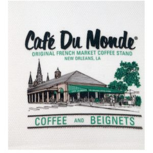 Cafe du Monde Logo Towel