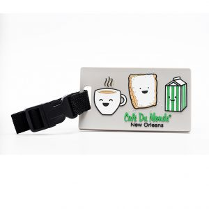 Cafe du Monde Smile Luggage Tag
