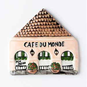 Cafe du Monde Clay Magnet
