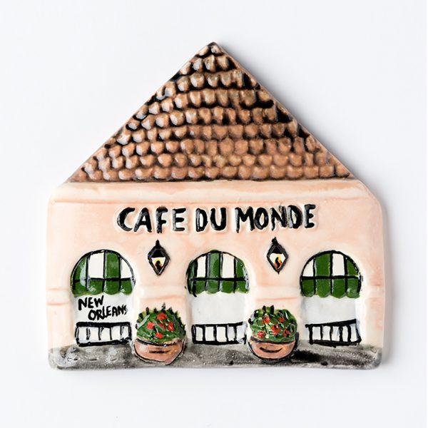 Cafe du Monde Clay Magnet