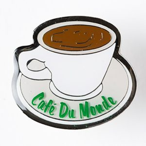 Cafe du Monde Coffee Cup Pin