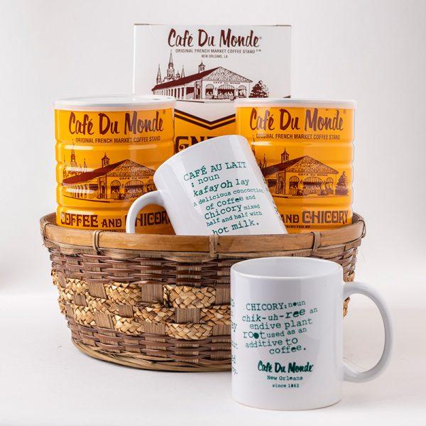 Cafe du Monde St Claude Gift Basket