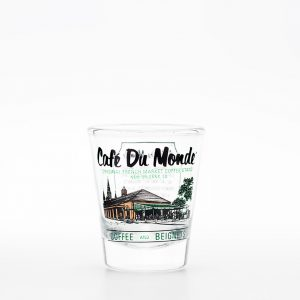 Cafe du Monde Shot Glass