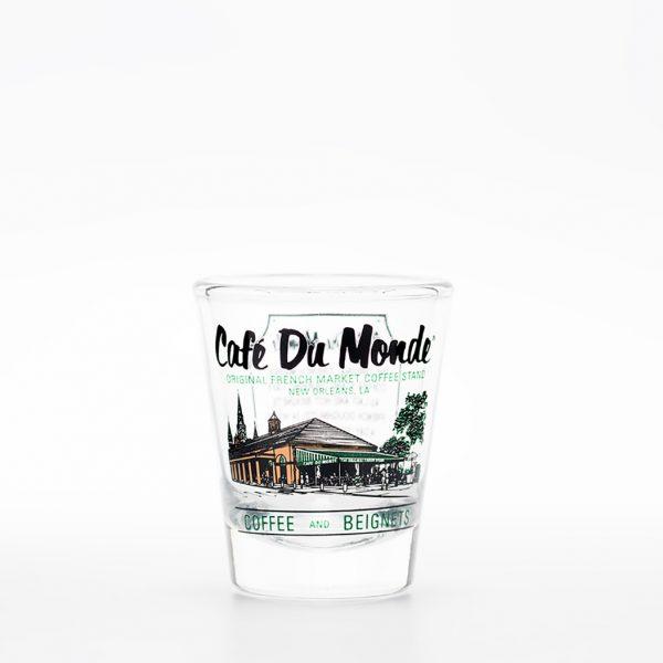 Cafe du Monde Shot Glass