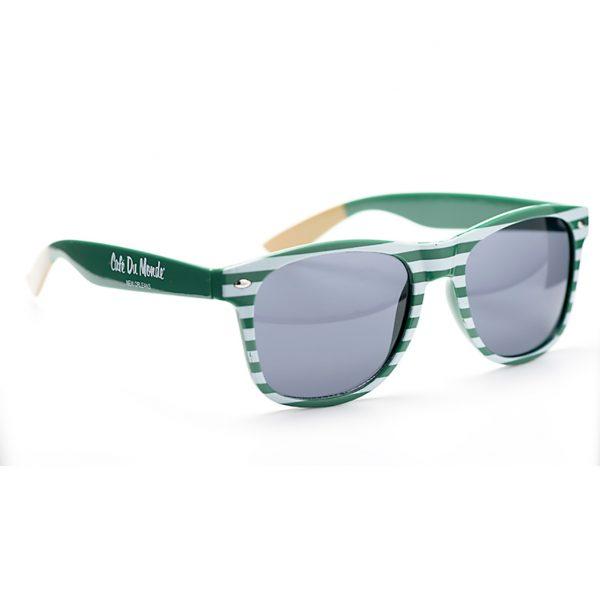 Cafe du Monde Striped Sunglasses