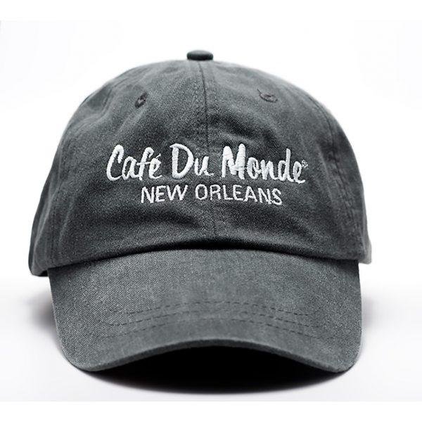 Cafe du Monde Charcoal Washed Cap