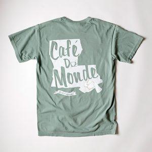 Cafe du Monde Comfort Colors Bay Tee Shirt