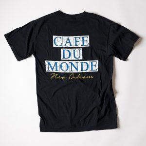 Cafe du Monde Comfort Colors Black Tee Shirt