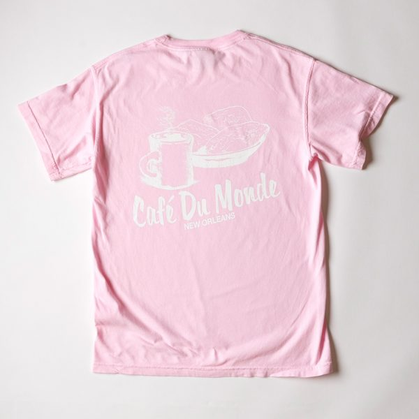 Cafe du Monde Comfort Colors Blossom Tee Shirt
