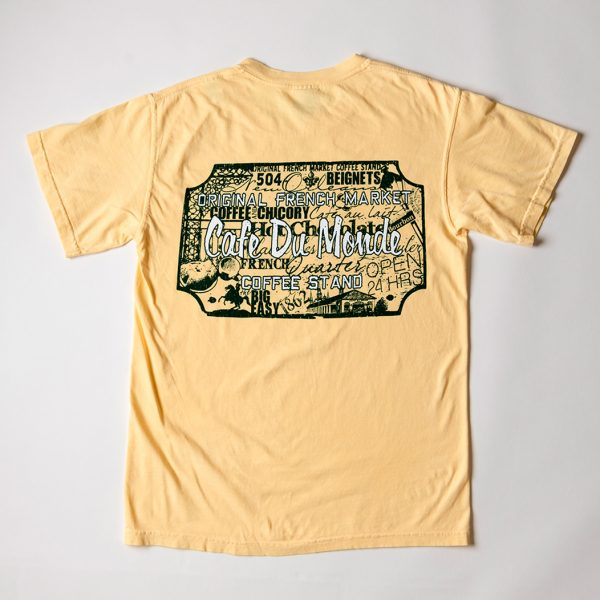 Cafe du Monde Comfort Colors Butter Tee Shirt