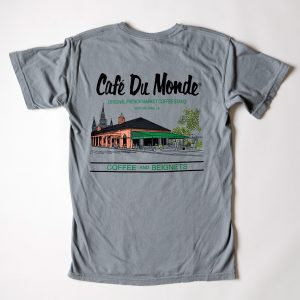 Cafe du Monde Comfort Colors Granite Tee Shirt