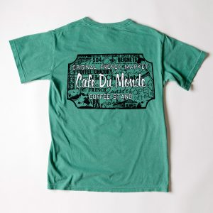Cafe du Monde Comfort Colors Grass Tee Shirt