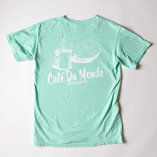 Cafe du Monde Comfort Colors Island Reef Tee Shirt