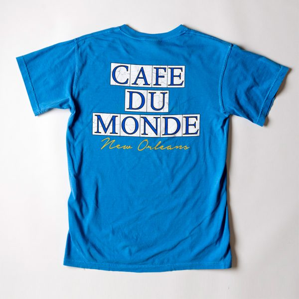 Cafe du Monde Comfort Colors Royal Caribe Tee Shirt