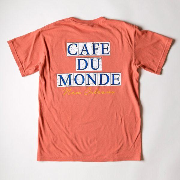 Cafe du Monde Comfort Colors Terra Cotta Tee Shirt