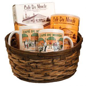 Cafe du Monde Awning Mug Gift Basket