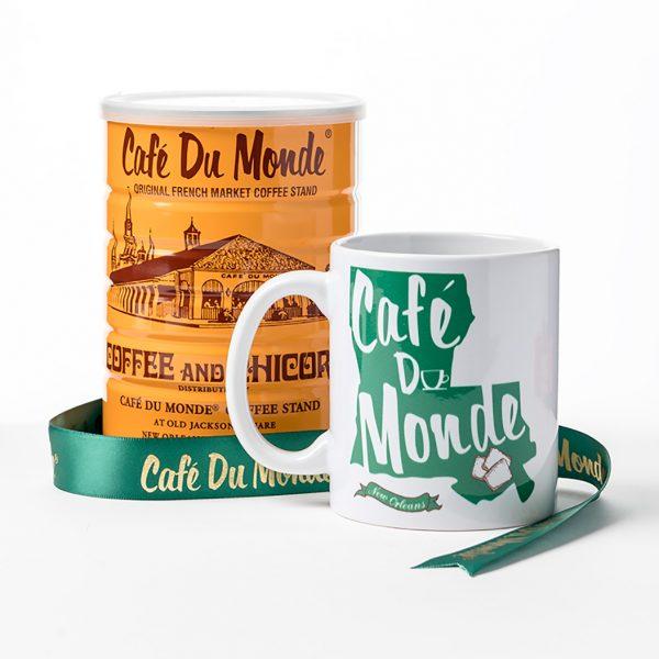 Cafe du Monde St Roch Wrap Gift Basket