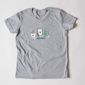 Cafe du Monde Gray Rabbit Skins Tee Shirt