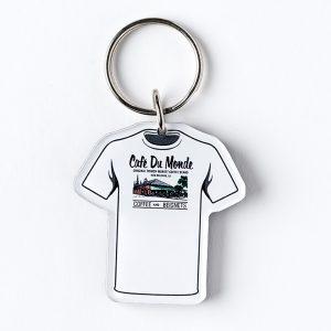 Cafe du Monde T Shirt Keychain