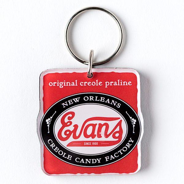Evans Original Creole Praline Keychain