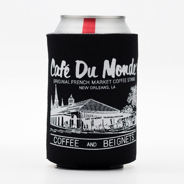 Cafe du Monde Black Koozie