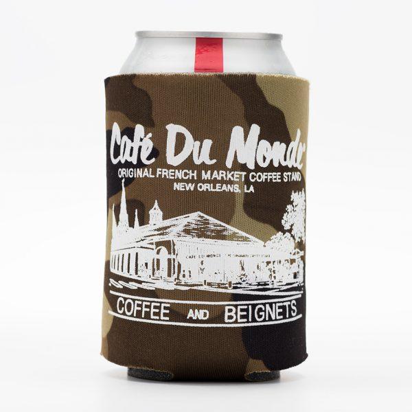 Cafe du Monde Camoflauge Koozie