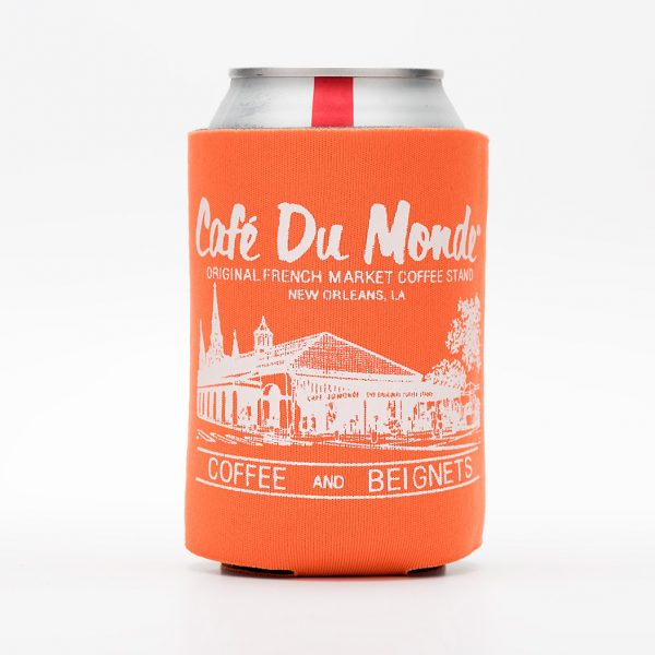 Cafe du Monde Orange Koozie
