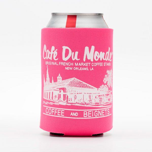 Cafe du Monde Pink Koozie