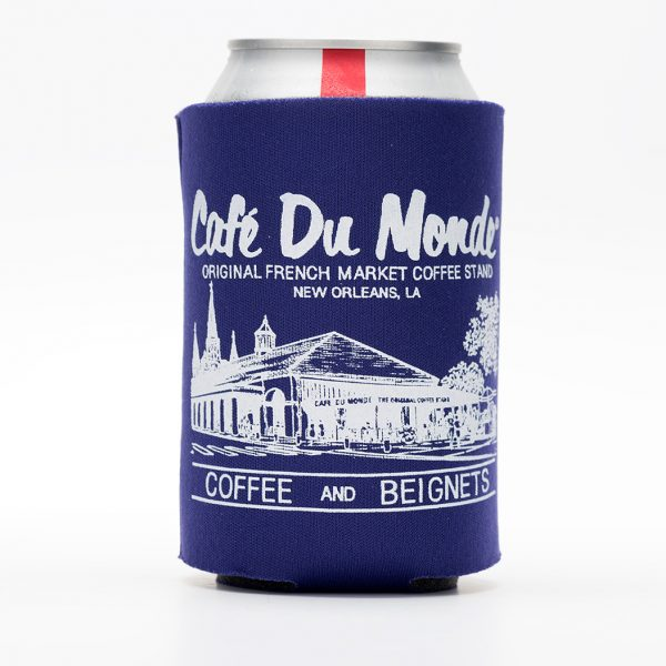 Cafe du Monde Purple Koozie