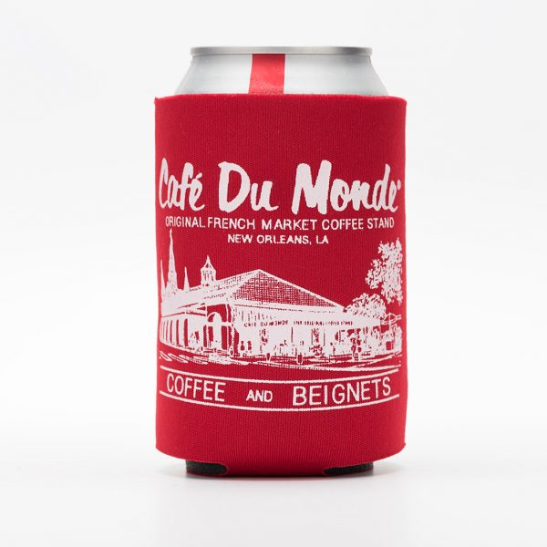 Cafe du Monde Red Koozie