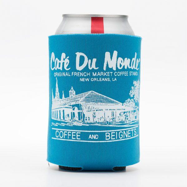 Cafe du Monde Sky Blue Koozie
