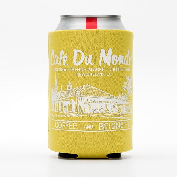 Cafe du Monde Yellow Koozie
