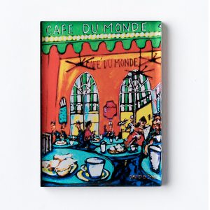 Cafe du Monde Blue Table Magnet