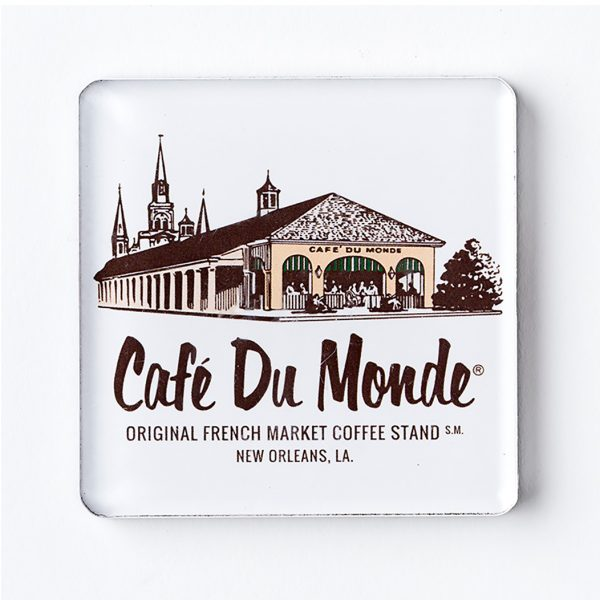 Cafe du Monde Brown Building Magnet