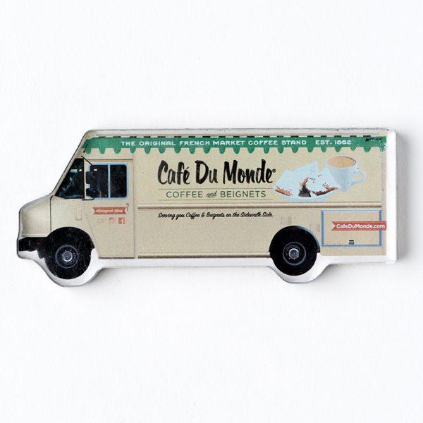 Cafe du Monde Food Truck Magnet