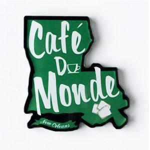 Cafe du Monde Louisiana State Magnet