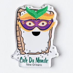 Cafe du Monde Mardi Gras Magnet