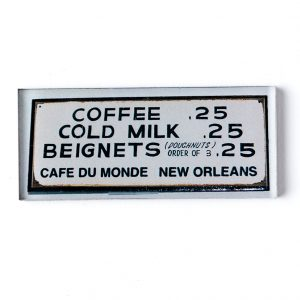 Cafe du Monde Menu Magnet