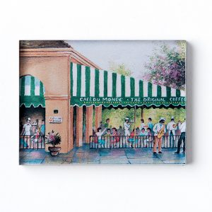 Cafe du Monde Patio Awning Magnet