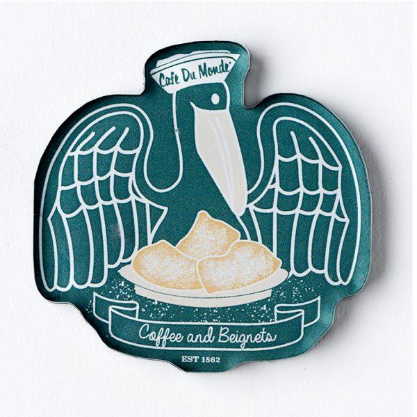 Cafe du Monde Pelican Magnet