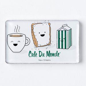 Cafe du Monde Smile Magnet