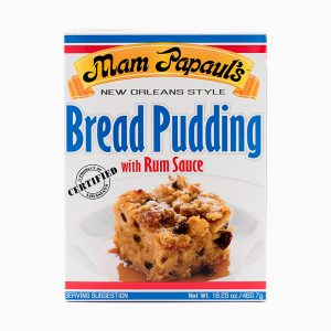 Mam Papauls Bread Pudding with Rum Sauce Mix