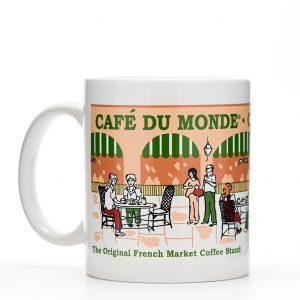 Cafe du Monde Archway Coffee Mug