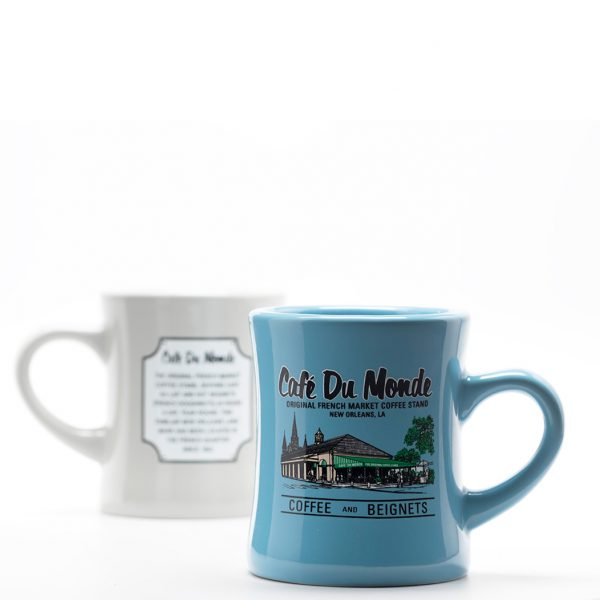 Cafe du Monde Blue Diner Coffee Mug