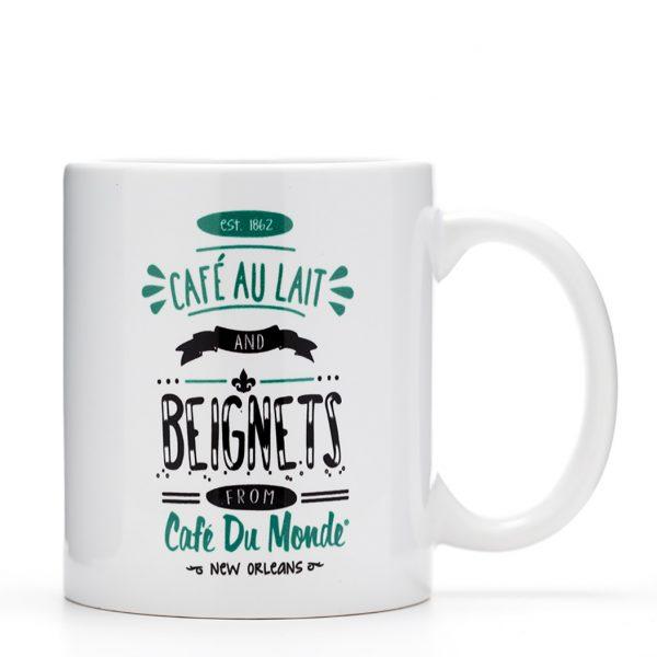 Cafe du Monde Cafe au Lait Coffee Mug